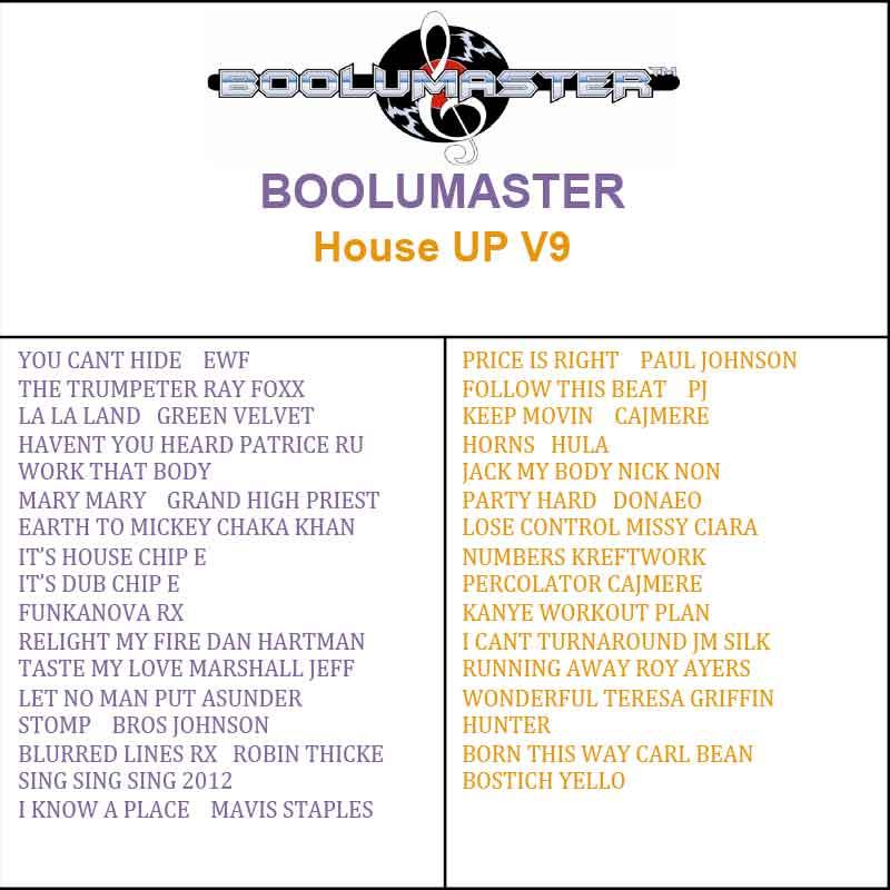 House Up 9 playlist