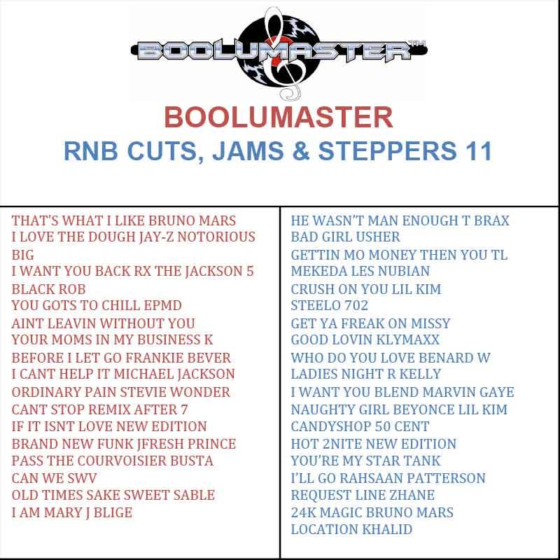 RnB Cuts 11 playlist
