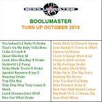 Turn Up October 2018 Playlist