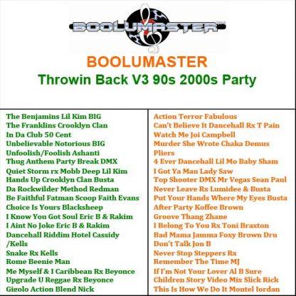 Throwin Back V3 Playlist