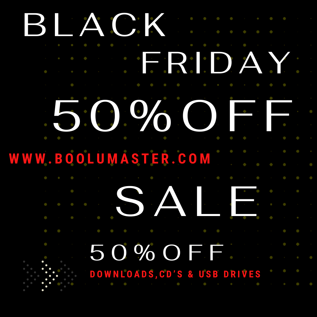 Black Friday 50% off sale