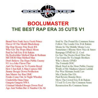The Best Rap Era playlist